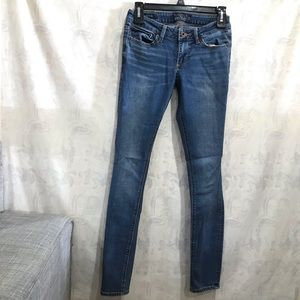Lucky Brand Lolita skinny jeans handcrafted